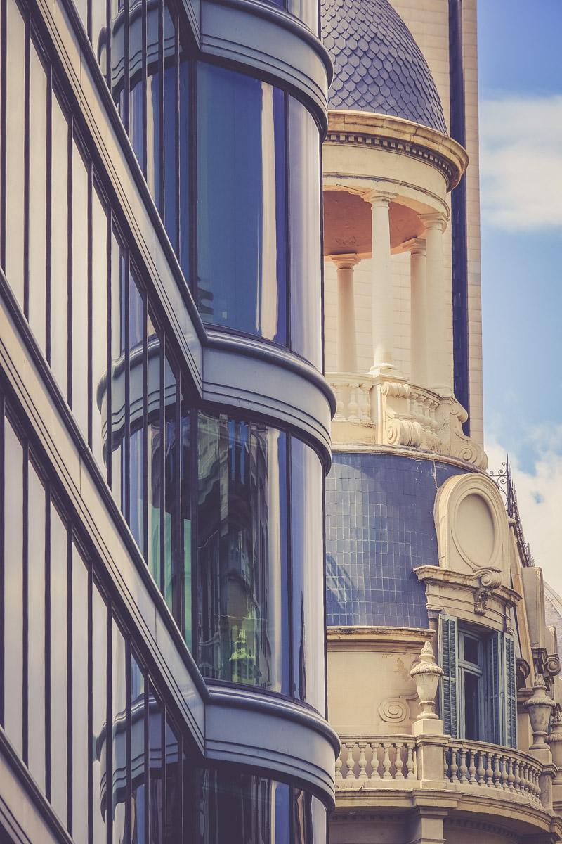 Architecture façade barcelone - blog voyage