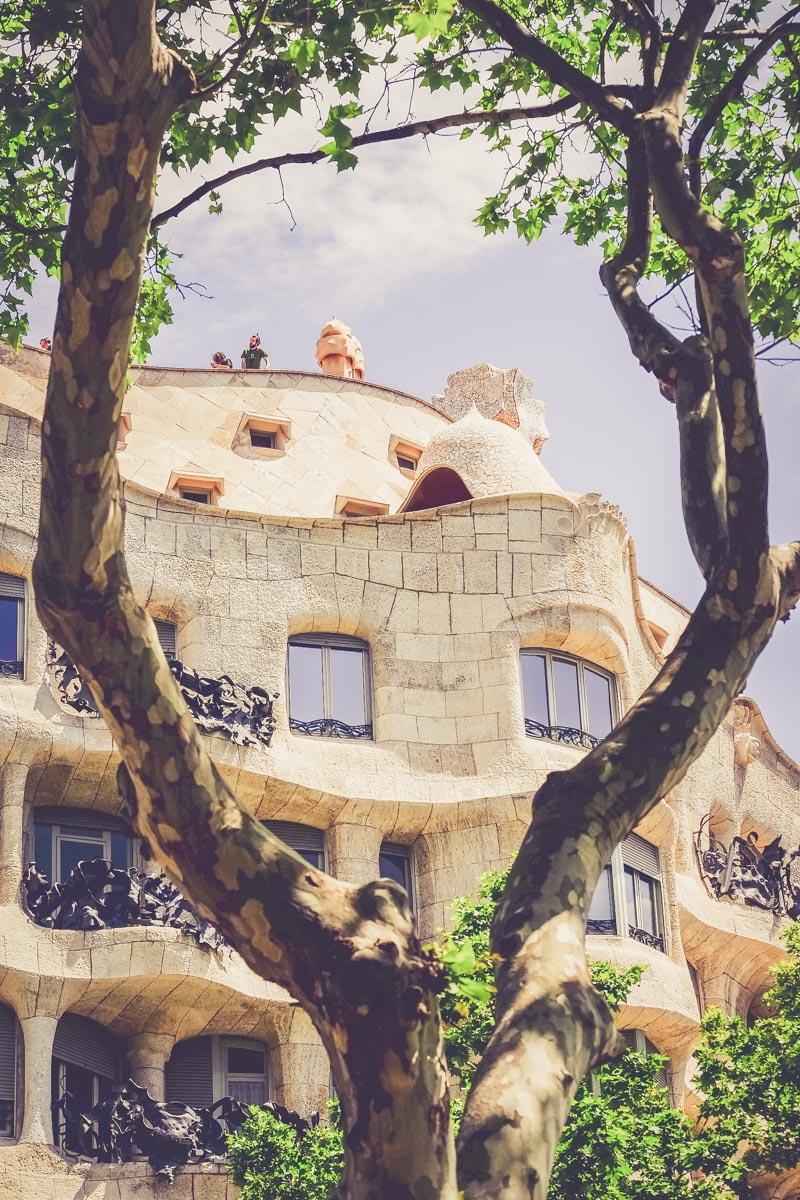 Casa Milà Gaudi - blog voyage