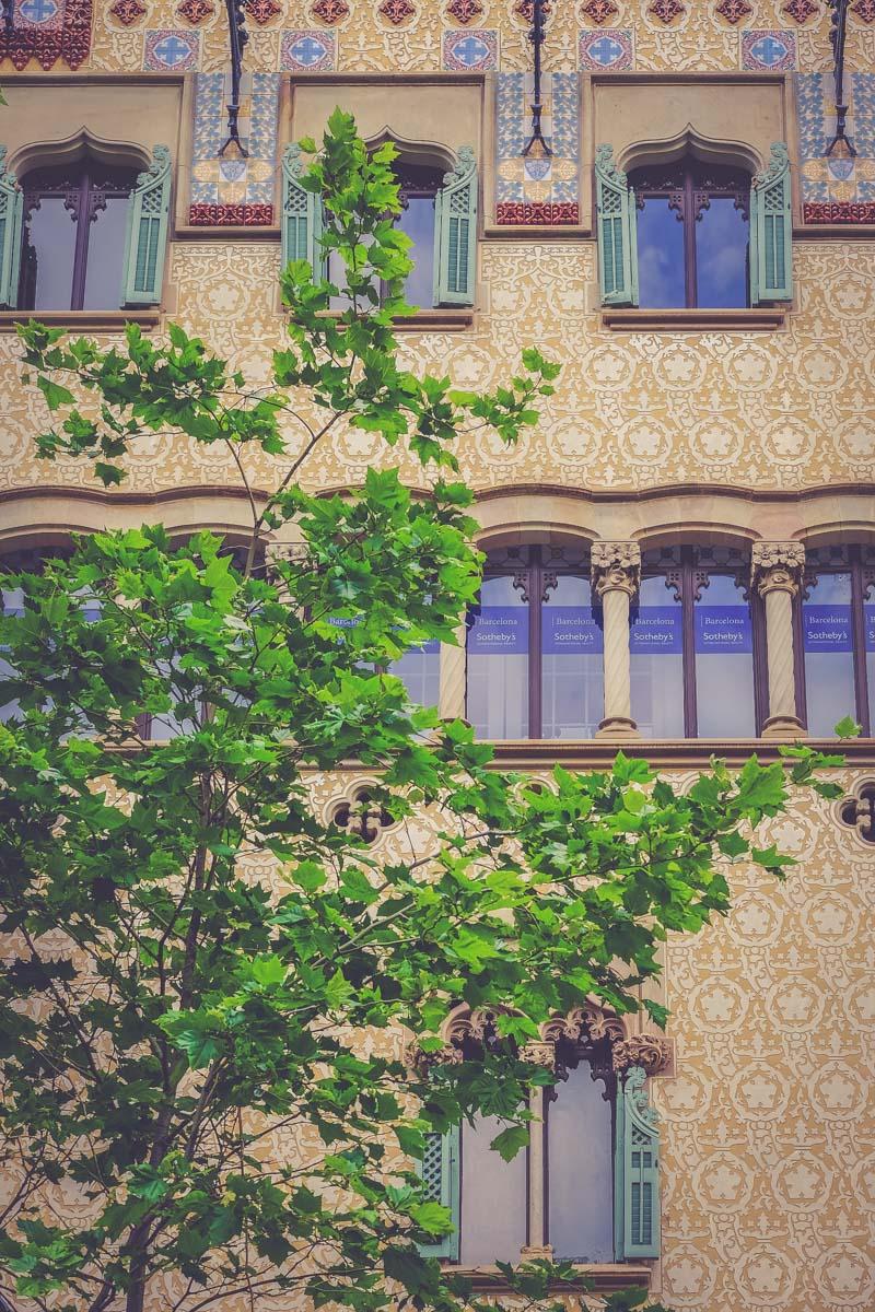 Balade architecturale à Barcelone - Blog voyage