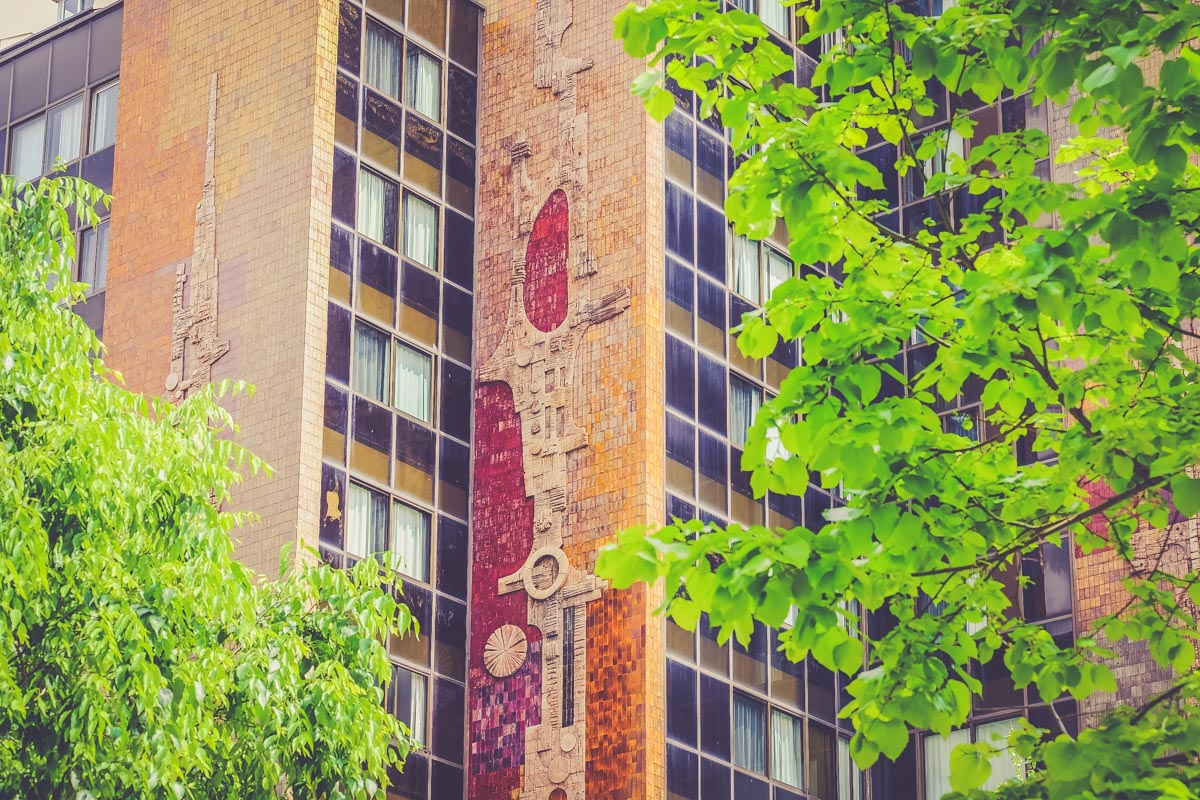 Architecture Casa Milà barcelone - blog voyage