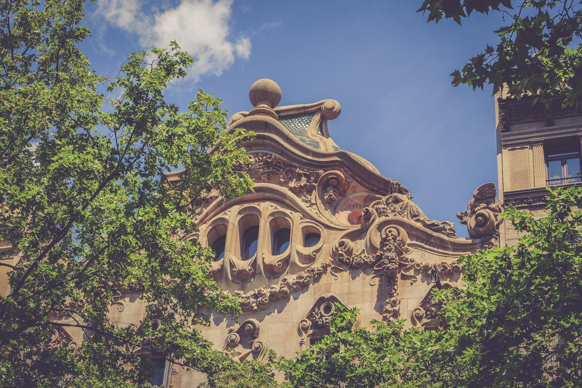 Architecture barcelone - Blog voyage