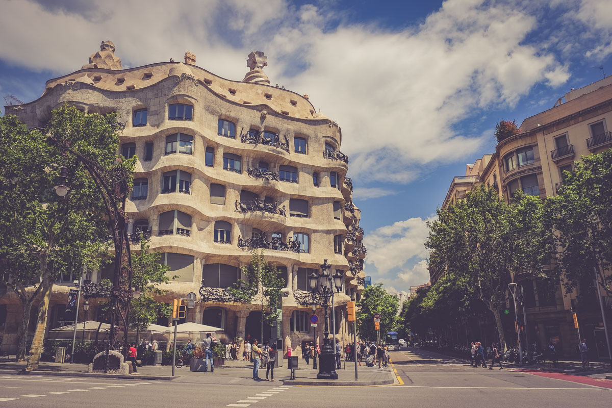 Balade architecturale à Barcelone - Blog voyage