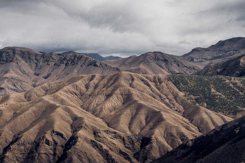 en route vers le désert marocain