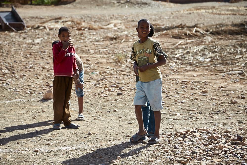 Portrait enfant Maroc