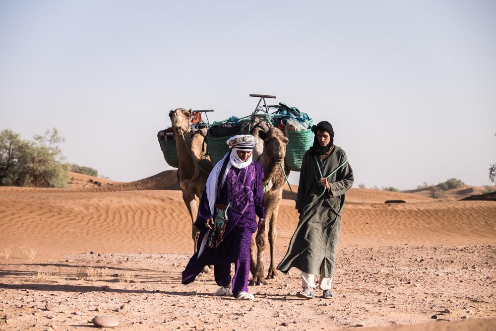 randonnée désert