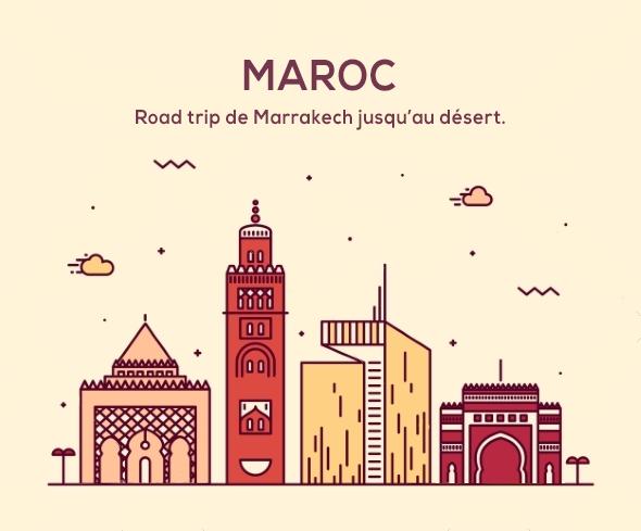 itinéraires Maroc et spots photo