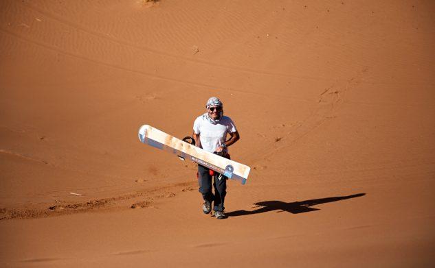 Les dunes de Chegaga – Panoramique et surf