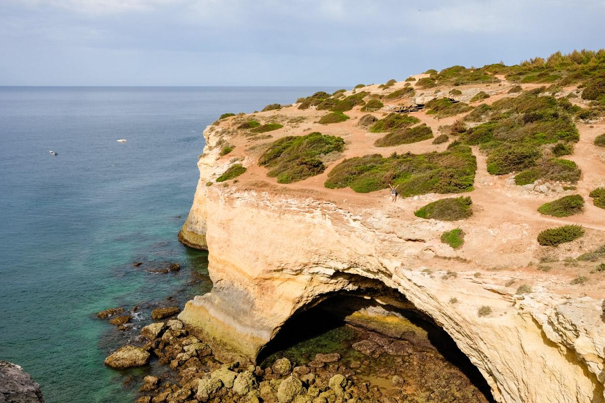 sentier des sept vallées suspendues en Algarve au Portugal
