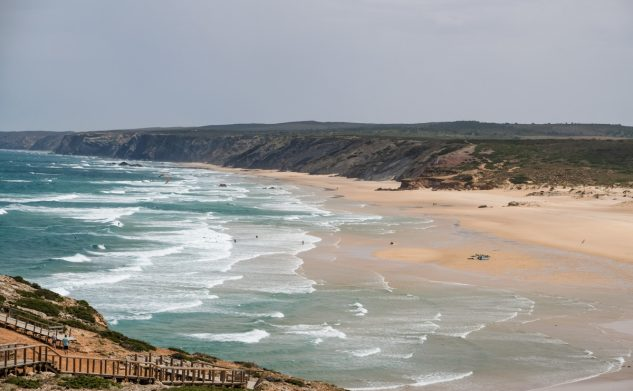 La côte ouest de l'Algarve: le littoral sauvage le plus occidental d'Europe