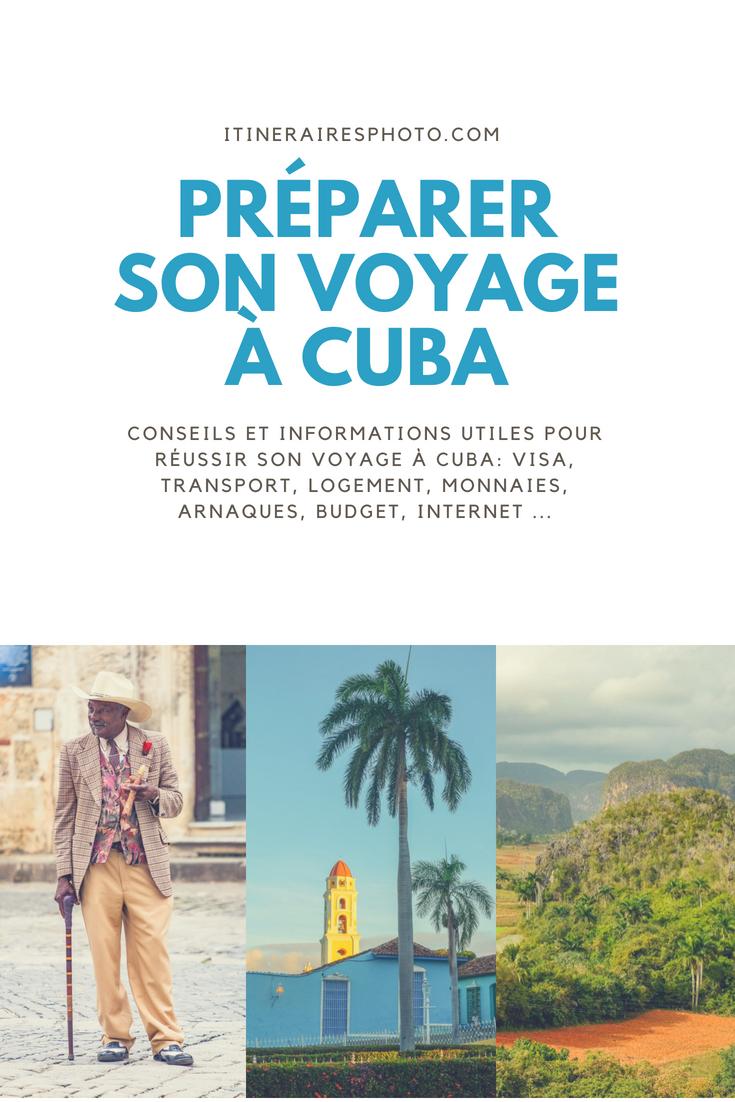 Préparer son voyage à Cuba