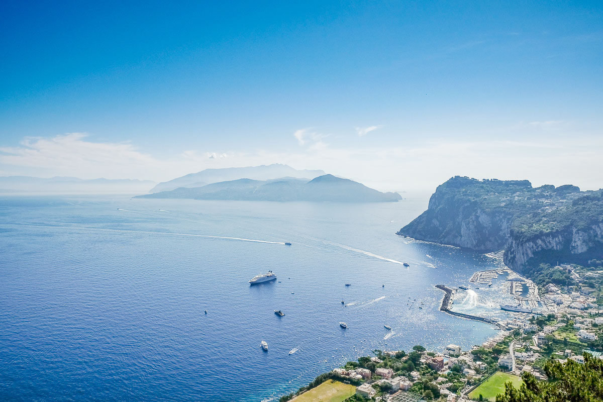 visiter Capri cote amalfitaine