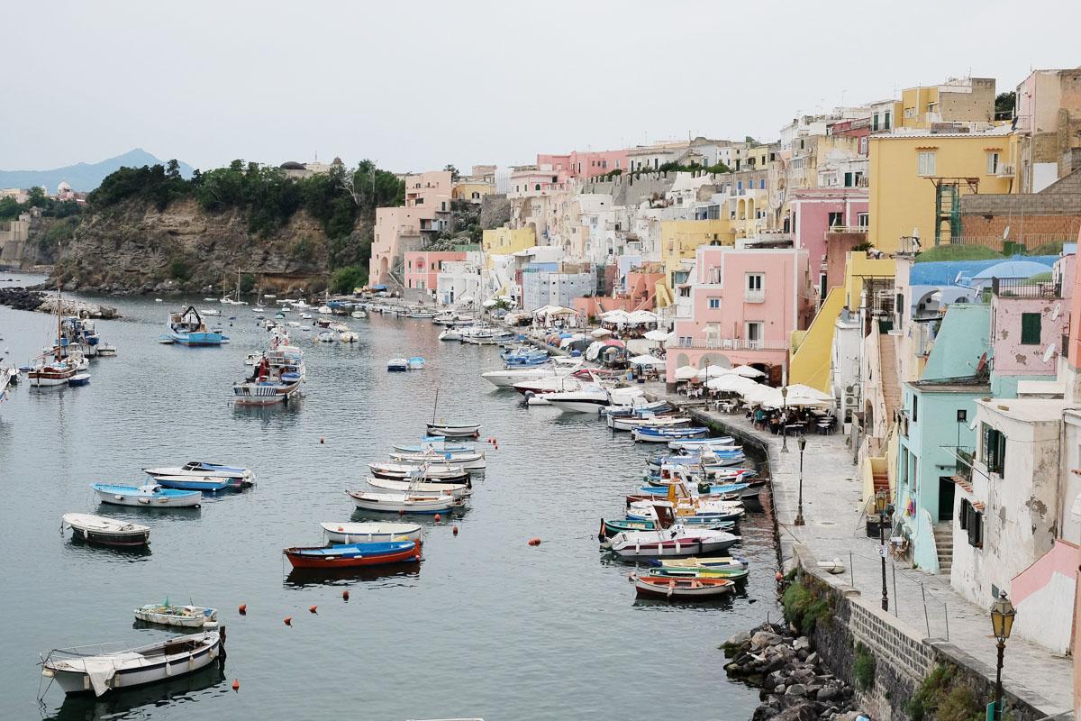 visiter Procida italie