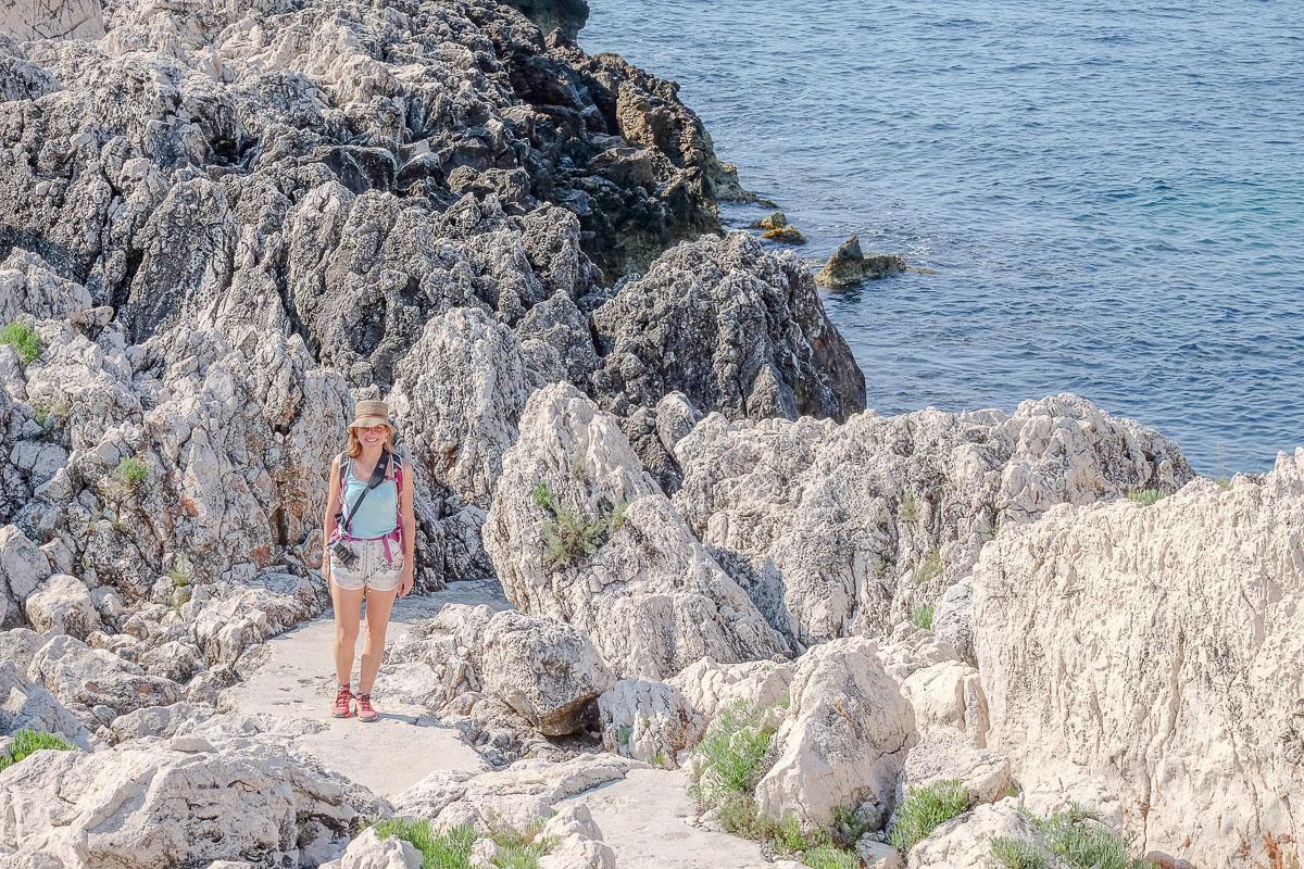 sentier littoral Saint-Jean-Cap-Ferrat