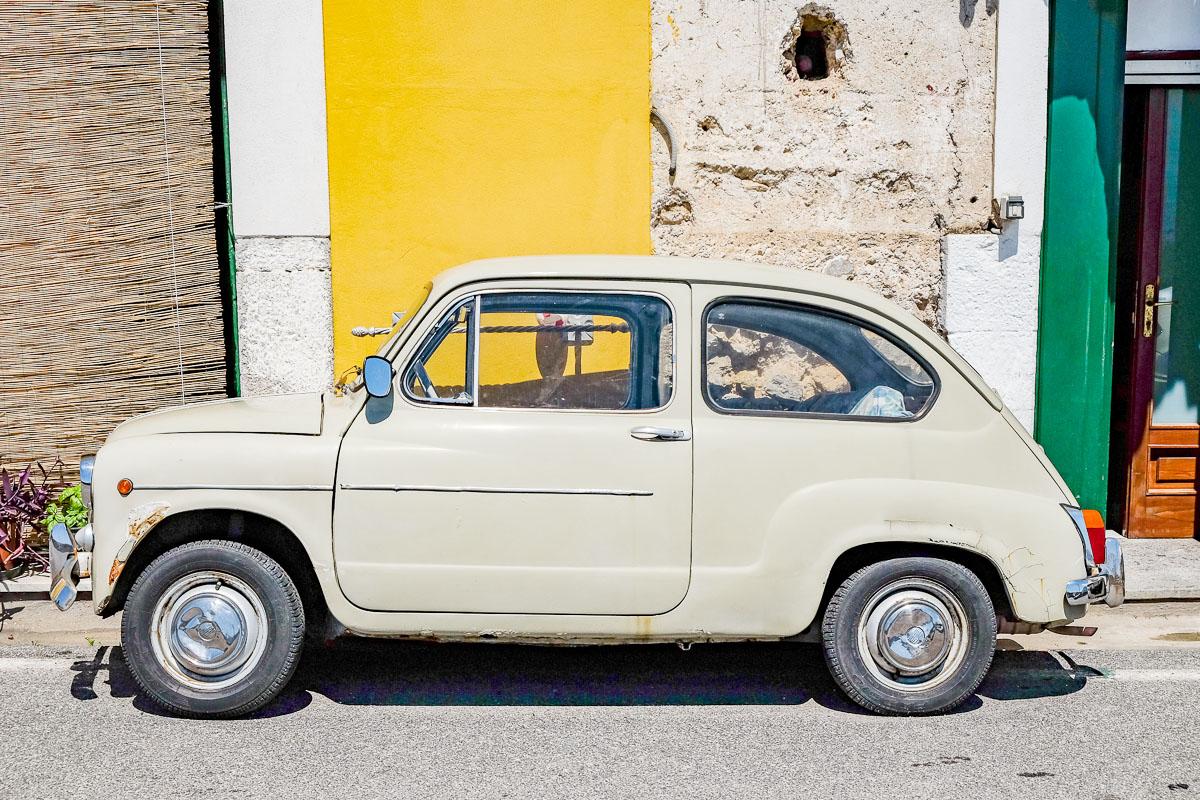 Road Trip Italie : voiture