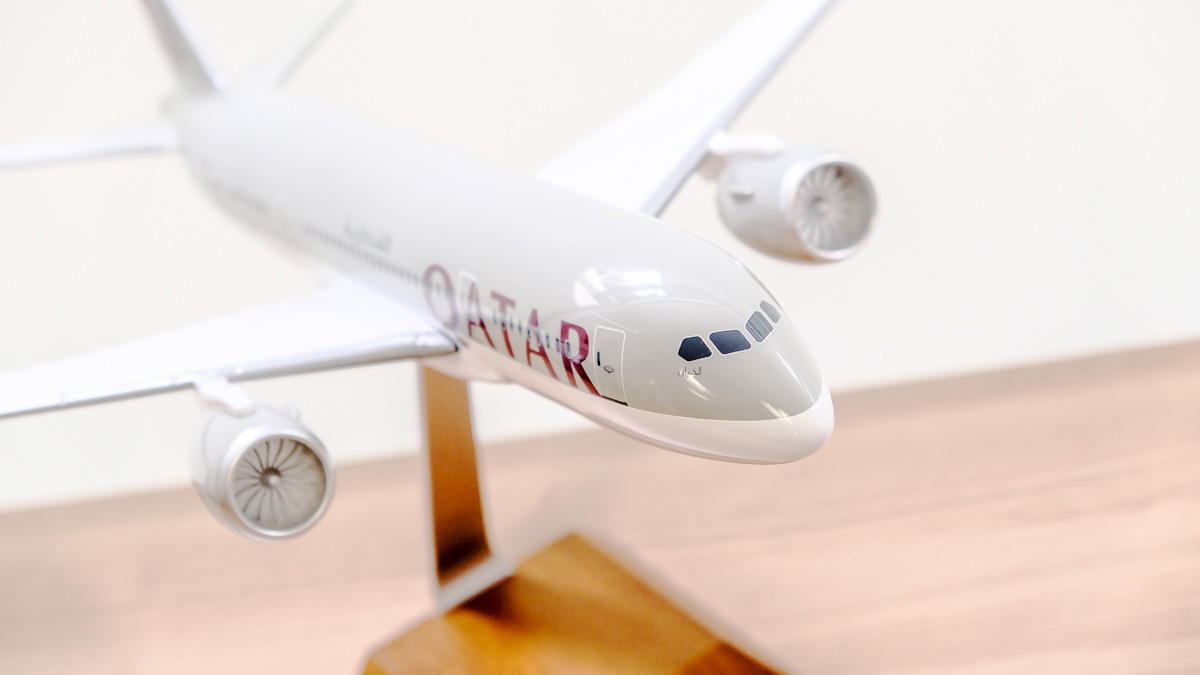 Qatar Airways : On a visité le Dreamliner B787