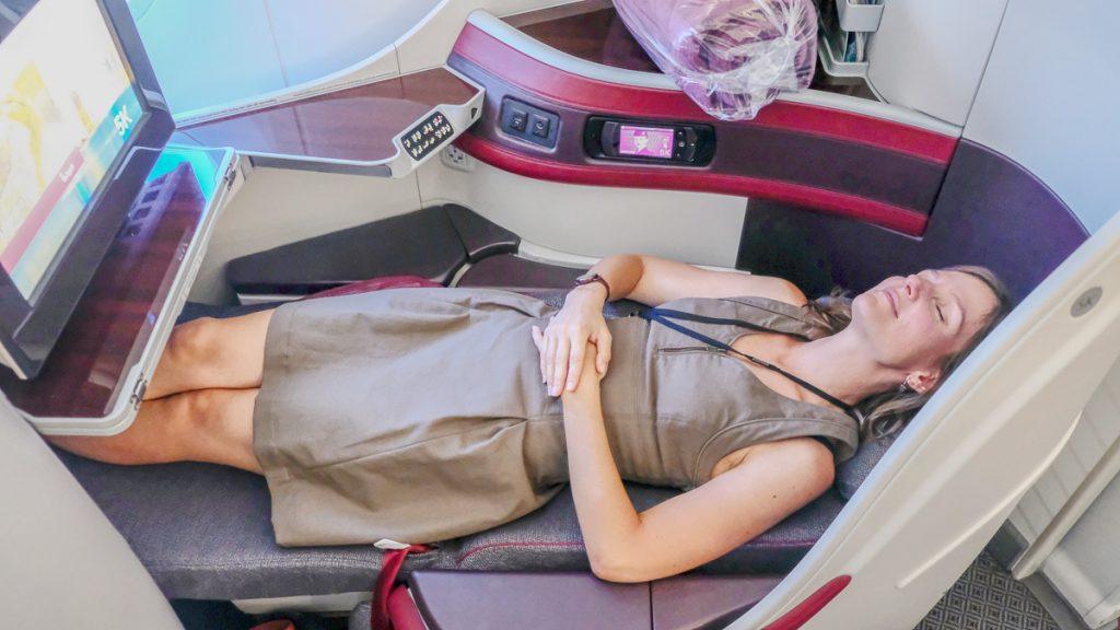 Confort Qatar Airways