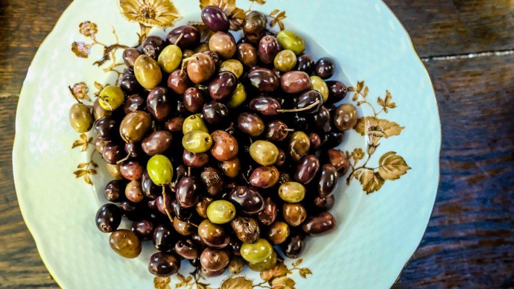 olives spécialité niçoise