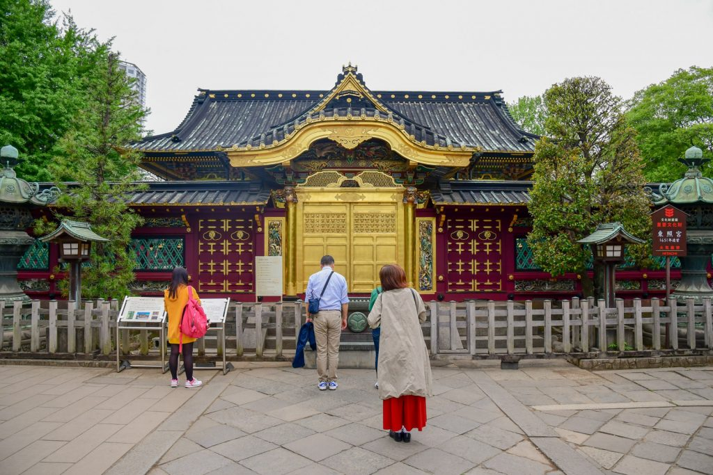 temple ueno tokyo