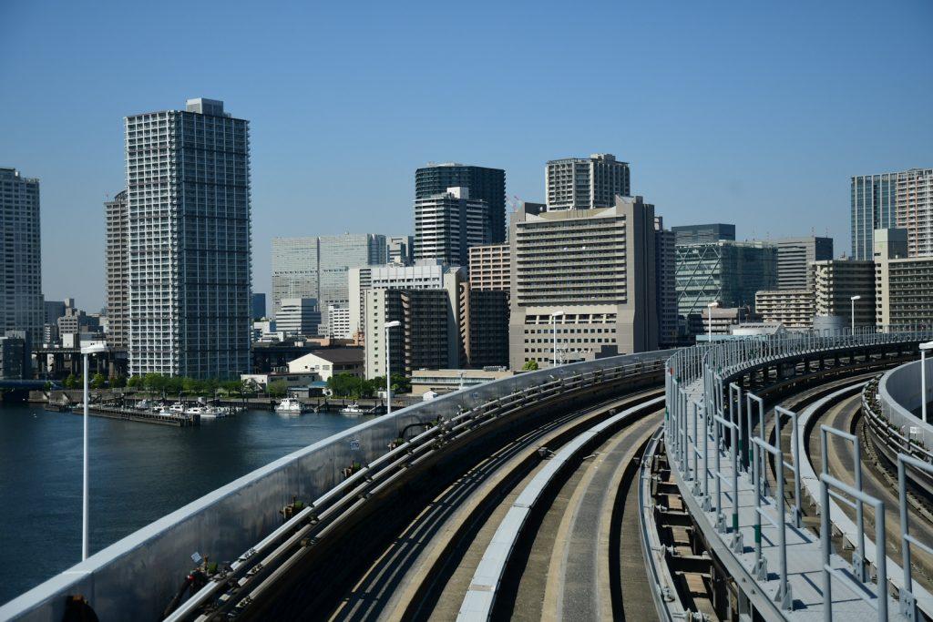 monorail aérien tokyo
