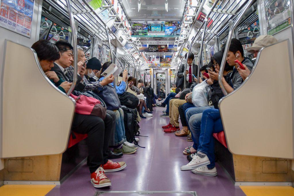 métro tokyo japon