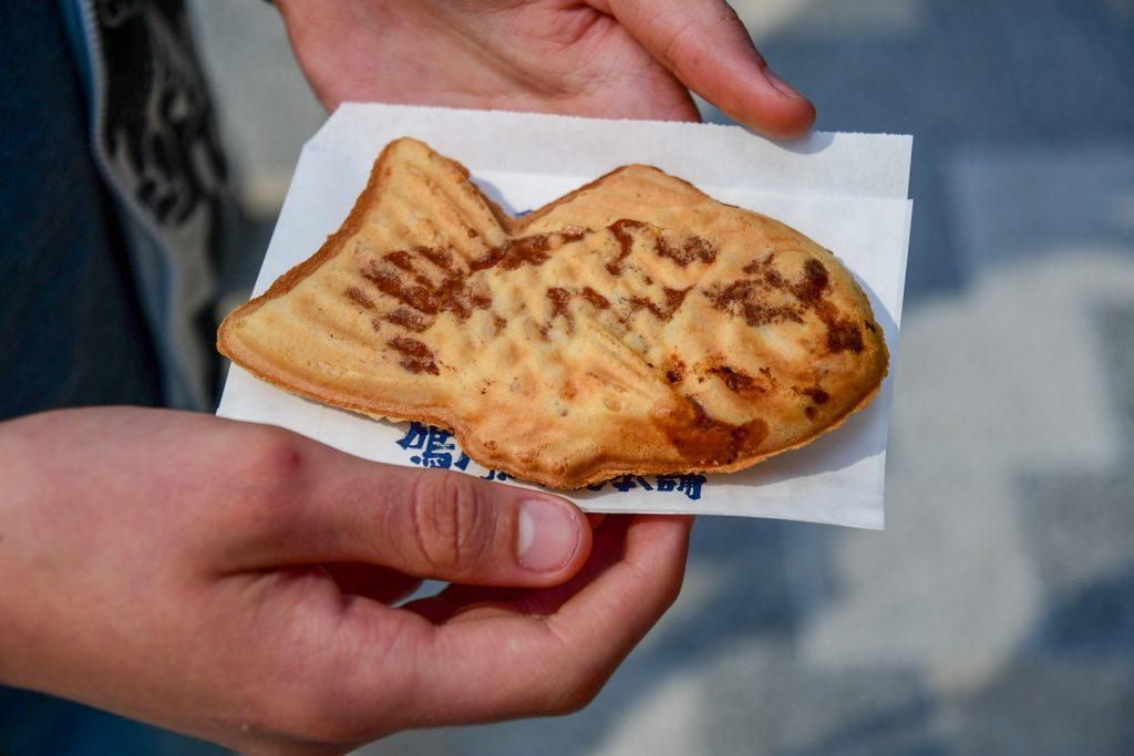 pâtisserie taiyaki japon