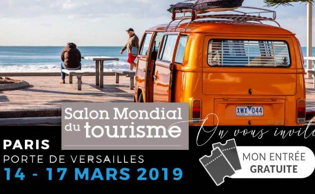 Salon Mondial Tourisme Paris 2019 : Vos places gratuites