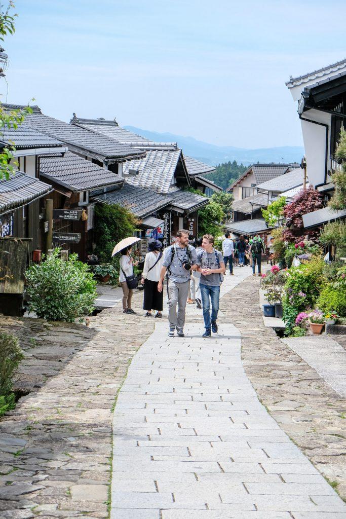 randonnée de Magome à Tsumago