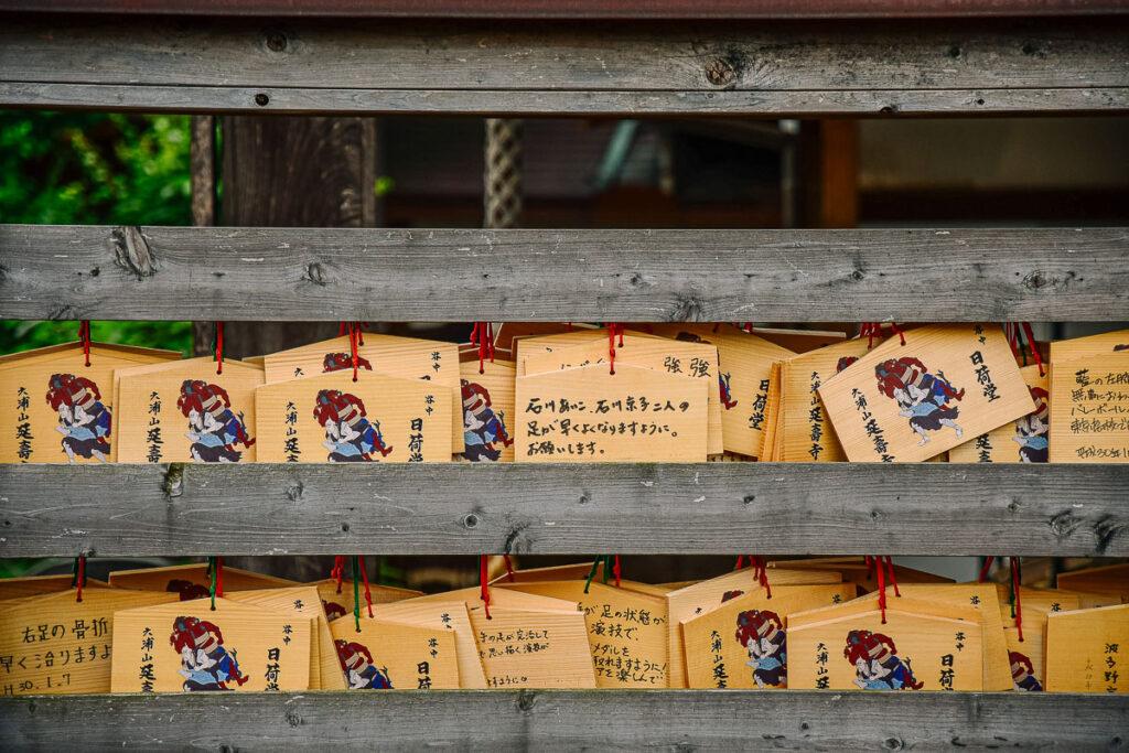 plaquettes ema japon