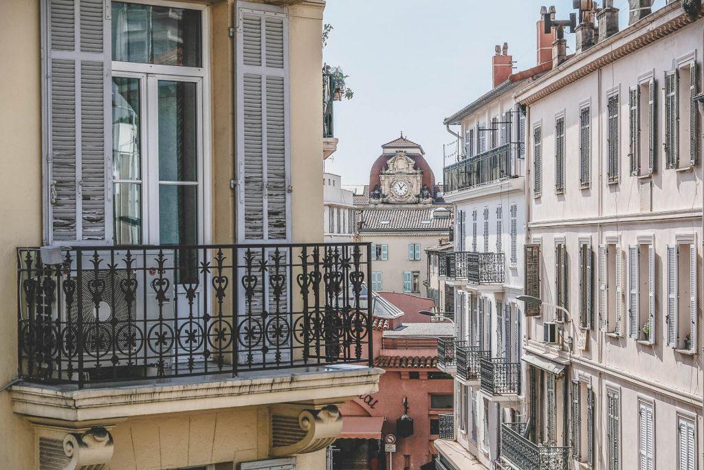 Architecture vieux Cannes
