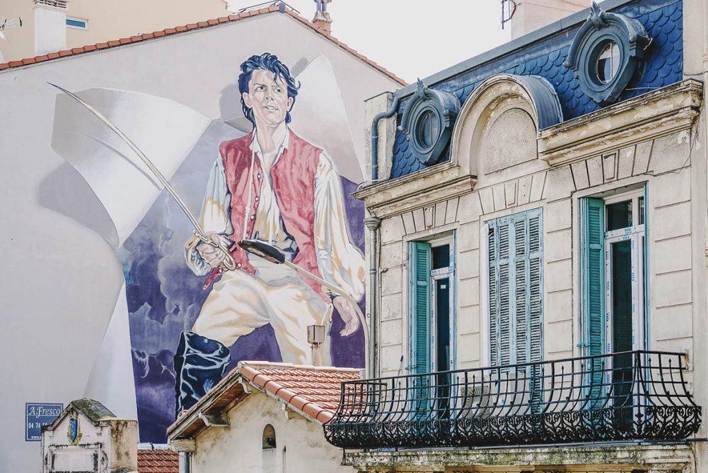 fresque Cinema Cannes