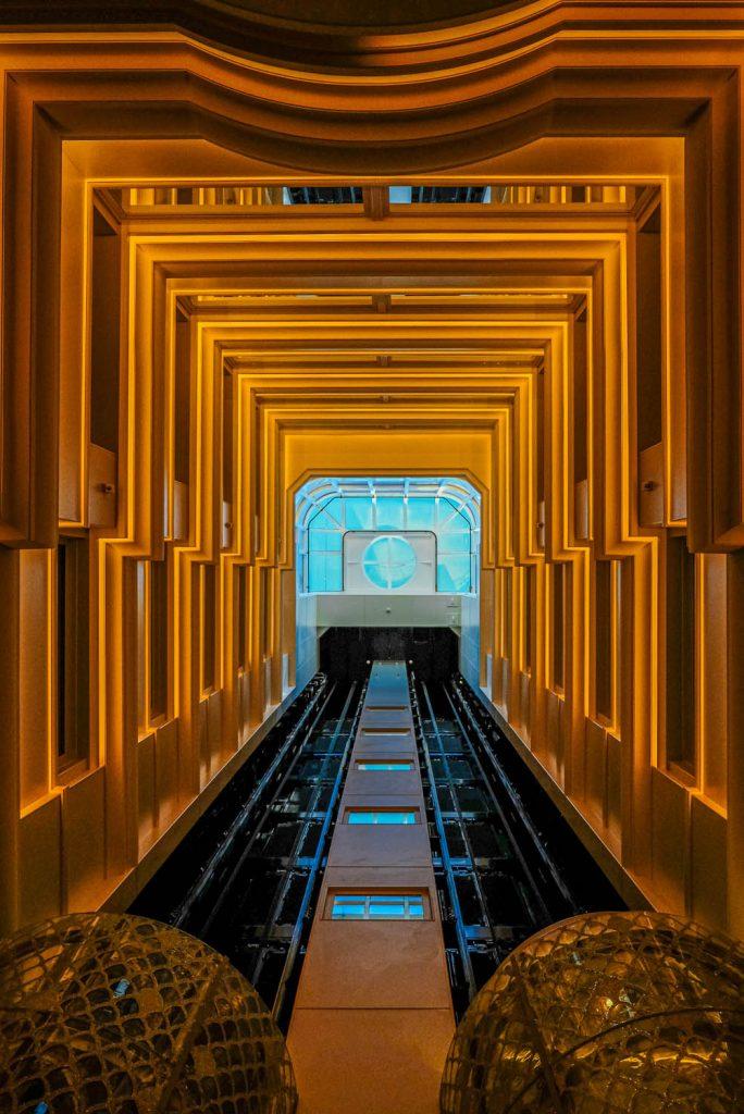ascenseur seven seas explorer