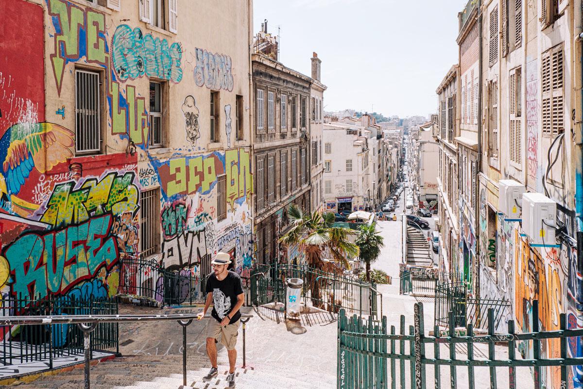 Visiter Cours Julien Marseille