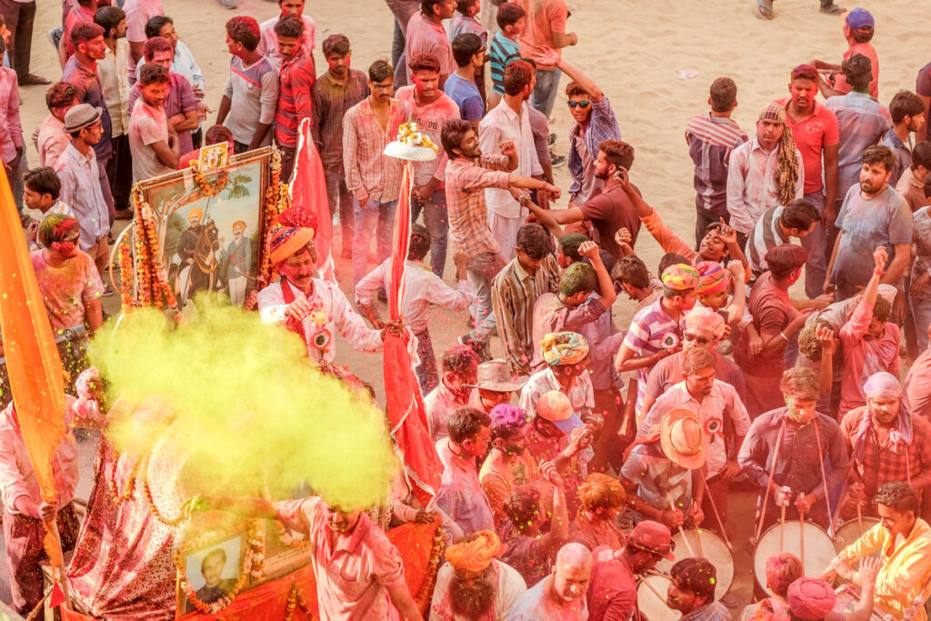 fête de holi rajasthan