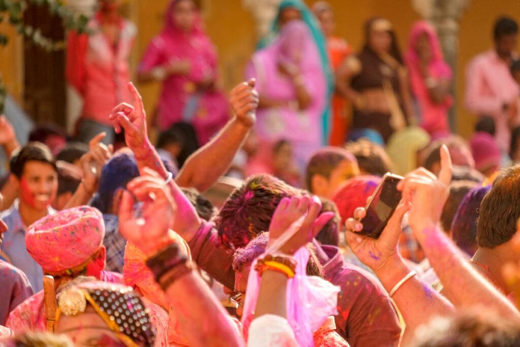 fête de Holi inde