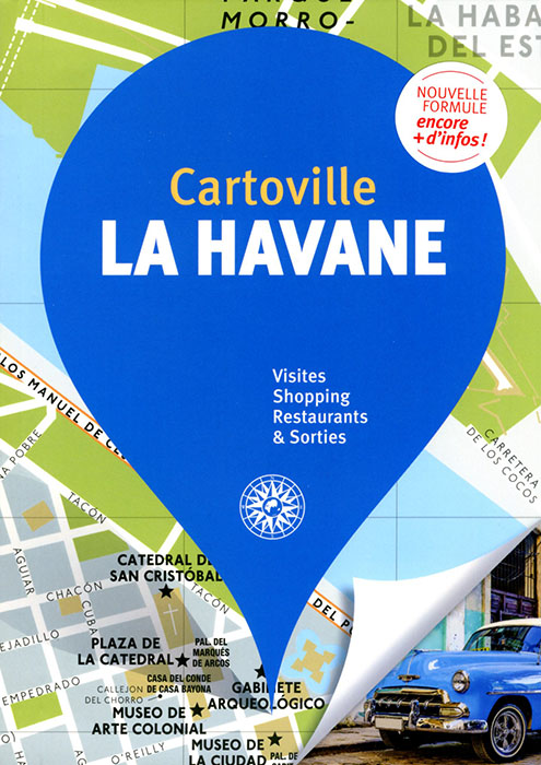 cartoville plan La Havane