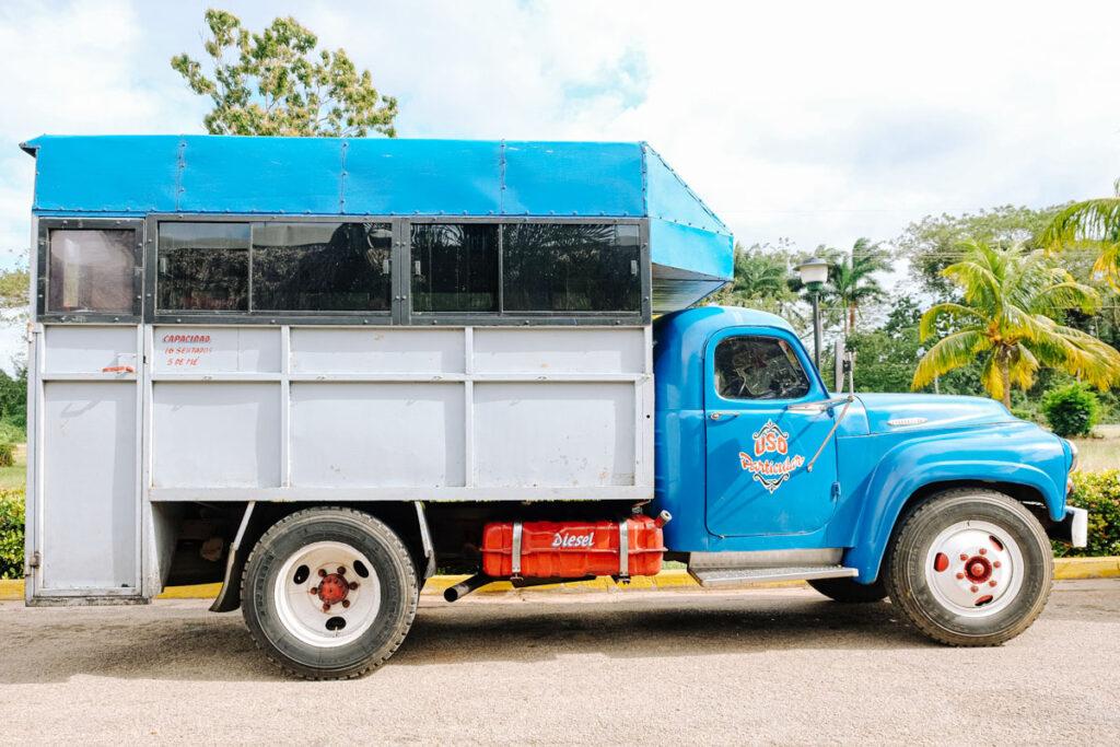 bus collectif cuba