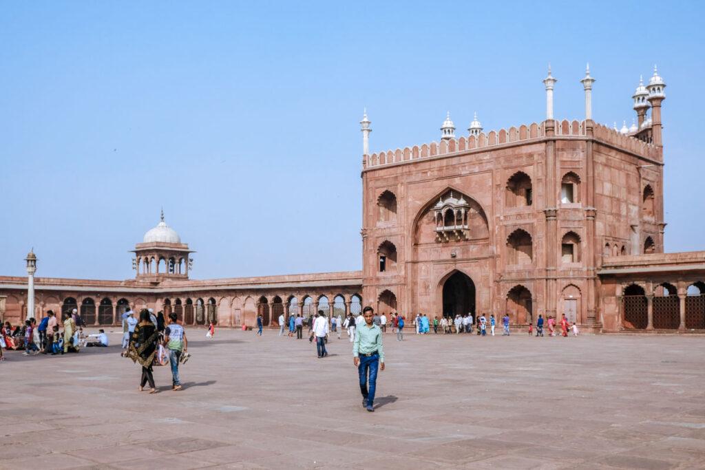 visiter mosquée Delhi