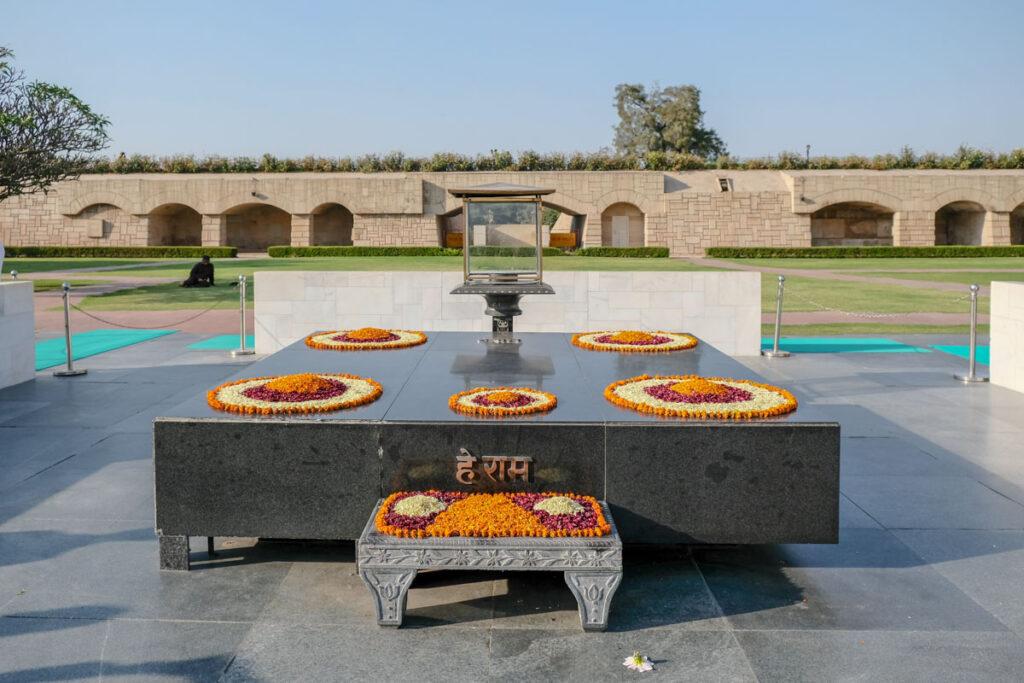 mémorial Gandhi Delhi