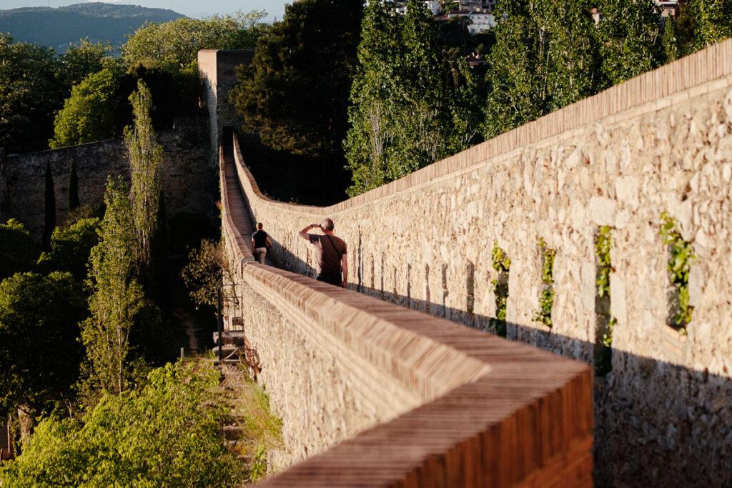 muraille Gérone Espagne