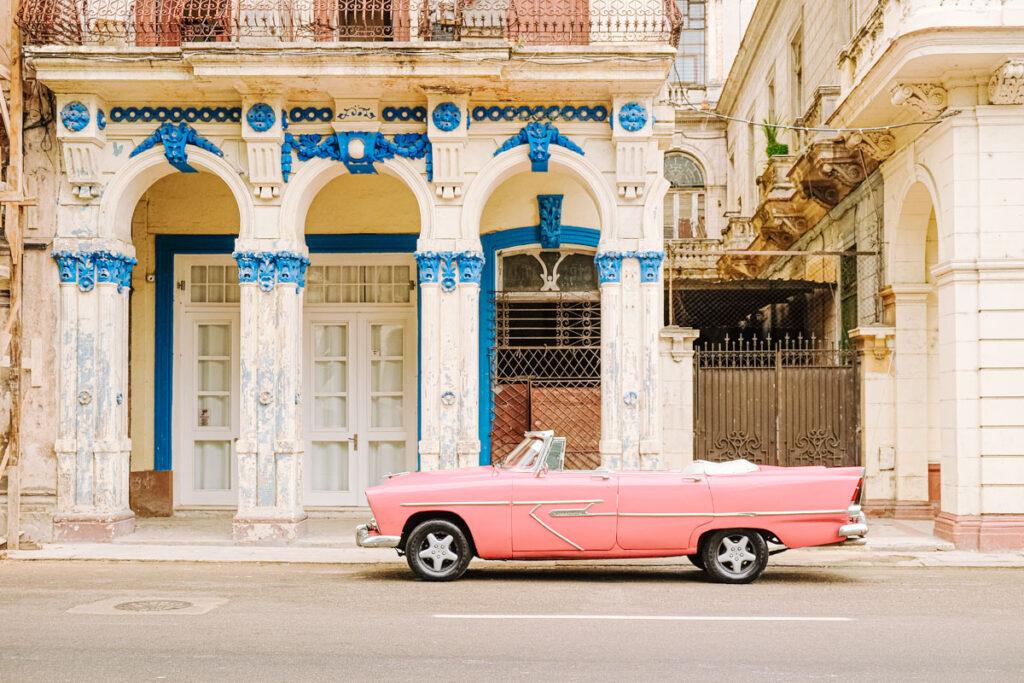 vieille voiture américaine cuba