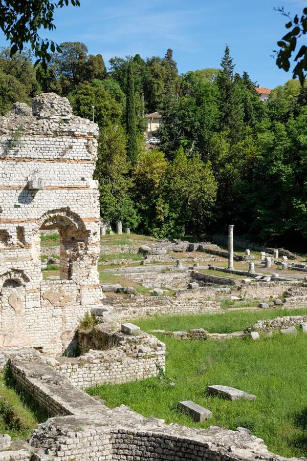 ruines de cimiez nice