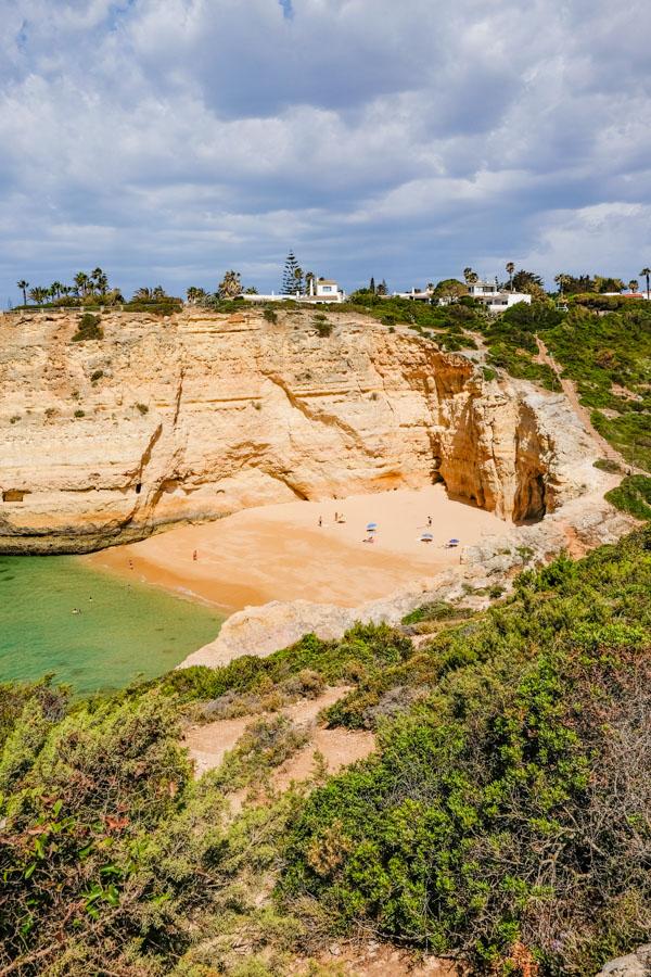 praia do carvalho algarve