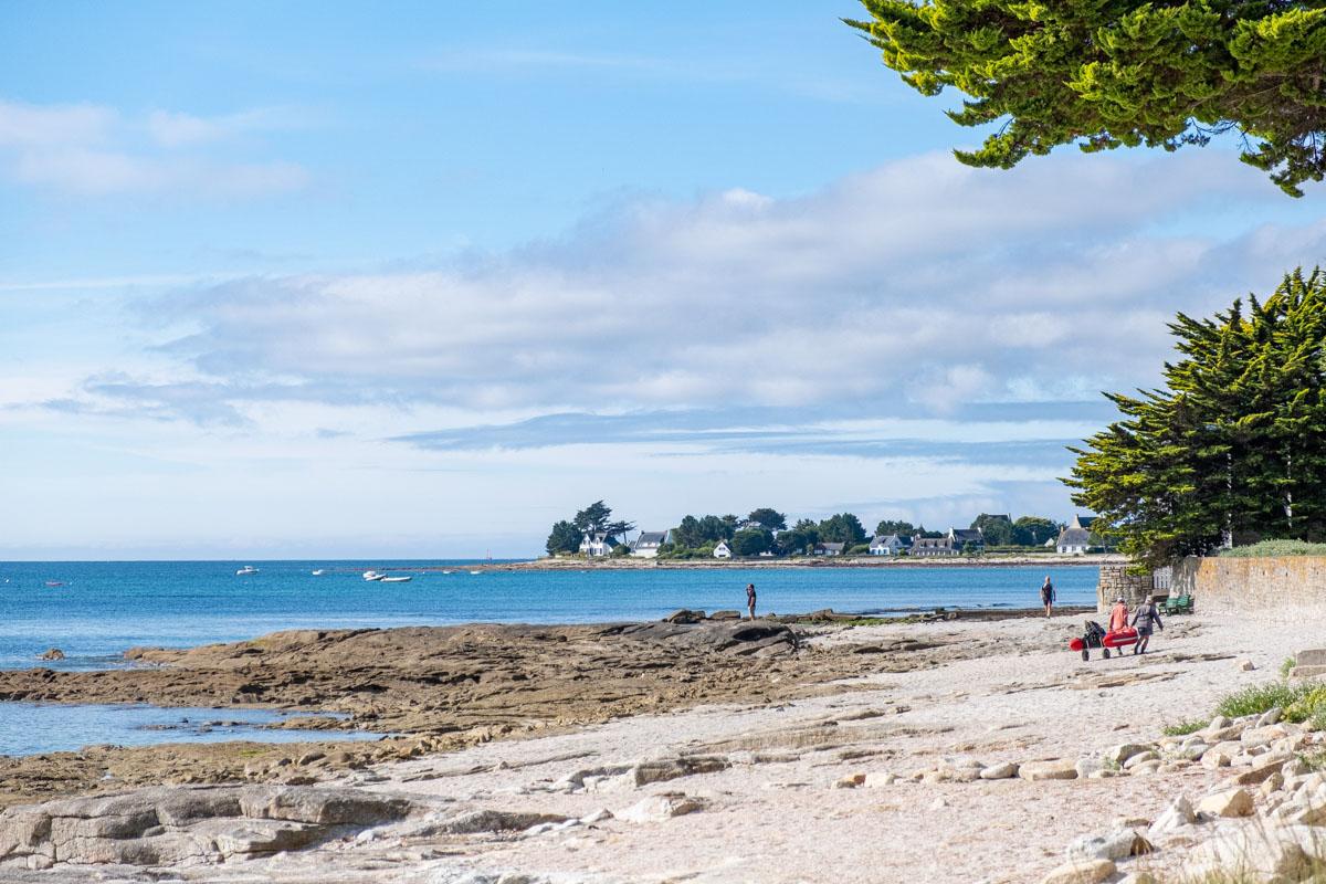 plage Loctudy Finistère