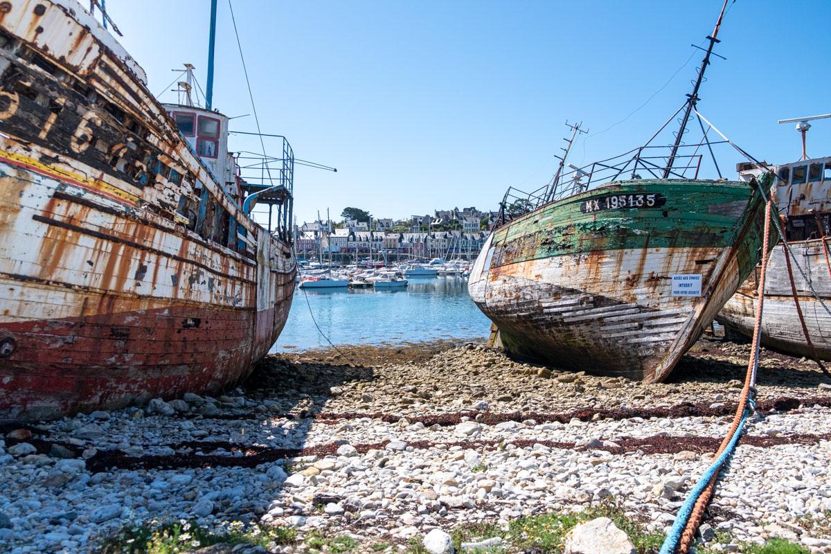 cimetière bateaux Camaret