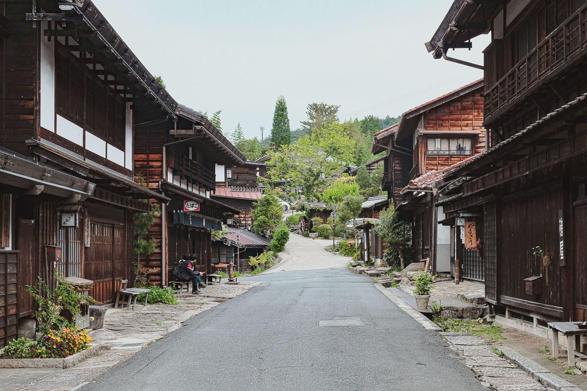 visiter tsumago japon